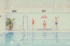 La piscina de tus sueños tiene estética de comunismo checoslovaco