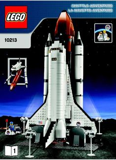 John Kenneth Muir's Reflections on Cult Movies and Classic TV: Lego Space Shuttle