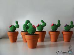 Blog sobre amigurumis, patrones, artículos de crochet para bebés y niños, decoración y complementos de ganchillo, DIY. Cactus Amigurumi, Crochet Cactus, Amigurumi Toys, Crochet Flowers, Mini Cactus, Cactus Flower, How To Grow Cactus, Crochet Patterns, Etsy