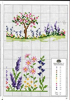 Grand Sewing Embroidery Designs At Home Ideas. Beauteous Finished Sewing Embroidery Designs At Home Ideas. Just Cross Stitch, Cross Stitch Borders, Cross Stitch Flowers, Cross Stitch Kits, Cross Stitch Charts, Cross Stitch Designs, Cross Stitching, Cross Stitch Embroidery, Hand Embroidery