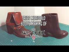 Making of Triss Merigold's shoes from the Witcher 3 Triss Merigold Cosplay, Triss Merigold Witcher 3, Triss Cosplay, Disney Inspired Fashion, Disney Fashion, Disneybound Outfits, The Witcher Wild Hunt, Taylor Swift Outfits, Fandom Fashion