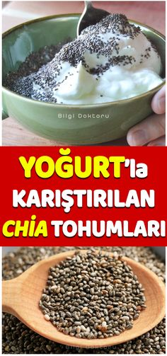 Chia Seed Yogurt with Slimming Cure # yogurt # slimming Chia Seeds, Beauty Care, Yogurt, Diet Recipes, Detox, The Cure, Health Fitness, Skin Care, Cooking