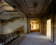 The Forgotten Spaces: 'Allegorie', part of the Forgotten Palaces series by photographer Thomas Jorion.