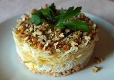 Салат «Принц»: По-королевски нарядный и сытный, он готовится из достаточно простых продуктов!
