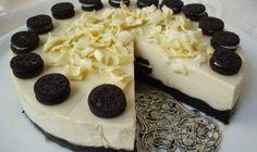 Linecké jogurtové kvetinky s kokosovou náplňou | Božské recepty Oreo Cake, Oreo Cheesecake, Cheesecake Recipes, Dessert Recipes, Y Recipe, Czech Recipes, No Bake Cake, Food Dishes, Oreos