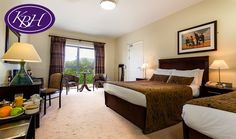 The Kenmare Bay Hotel offers a selection of Standard & Superior Bedrooms, including family, disabled access & triple rooms