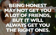 #honesty