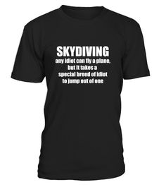 Skydiving Any Idiot Can Fly A Plane Fun2