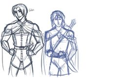 Ranger's Apprentice-- Gilan and Will WIP by Golden-Flute This is delightfully close to my mental image of Gilran, although I imagine his hair as being a little shorter.