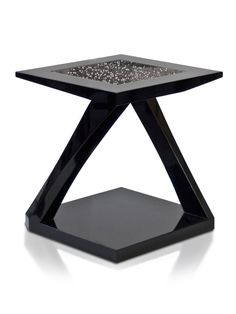 Crystal Edition Z Side Table Hellman-Chang