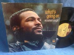 RARE Vintage Marvin Gaye  What's Going On Vinyl by sweetleafvinyl