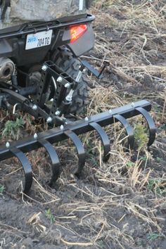 Impact Implements Chisel Plow for ATV/UTV with Receivers Cas, Atv Implements, Tractor Accessories, Tractor Attachments, Farm Tools, Engine Repair, Garden Equipment, Scrap Metal Art, Small Engine