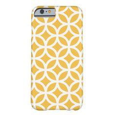 Geometric Solar Yellow iPhone 6 case iPhone 6 Case