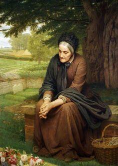 Charles Edward Perugini (1839-1918)Faithful