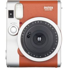 Fujifilm Instax Mini 90 Classic Instant Camera (brown)