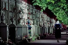 Cemetery, Moscow by josullivan.59, via Flickr