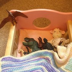 Pin for Later: 30 Dinovember Pictures That Will Drive Your Kids Wild Tucked In For the Night The Nut Job, Photo Projects, T Rex, Little Sisters, Prehistoric, Little Ones, Street Art, Photo Galleries, Nostalgia