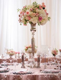 131 best Pink and White Wedding images on Pinterest | Pink and white ...