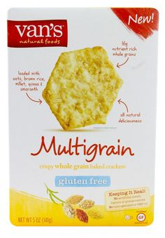 Van's Natural Foods Multigrain Gluten Free Crackers