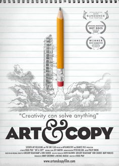 Art & Copy (2009) / 12 Documentaries That Embrace The Art Of Design (via BuzzFeed)
