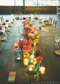 Table de mariage : comment la décorer ? - 100 Idées Déco