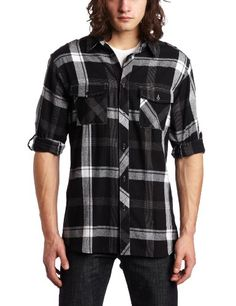 Burnside Young Men's Balm Flannel Shirt $21.00
