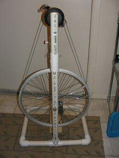 Homemade spinning wheel -back by stellalunag, via Flickr