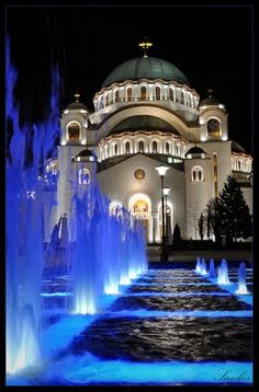 Cathedral of Saint Sava #Belgrade - Largest Orthodox church in the Balkans (by Sanja Kosanovic)