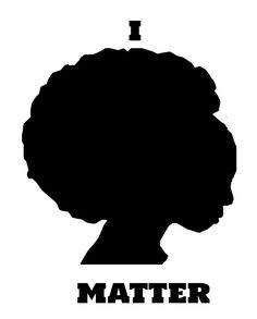 """""""I Matter"""" by Qsoul   Redbubble  This is a message showing the power of a black woman, stating that her life matters. This is not only aimed at injustices faced by black women, but also to all the black people, because she bears them all. Life Matters, Women Life, Long Hoodie, Black People, Black Women, Bears, Woman, Black, Bear"""
