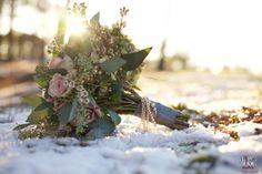 beautiful bridal bouquet - southern winter wedding photography, raleigh nc