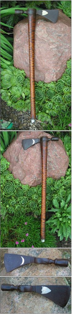 Handmade Pipe Tomahawks and other Indian Tomahawks and Axes (:Tap The LINK NOW:) We provide the best essential unique equipment and gear for active duty American patriotic military branches, well strategic selected.We love tactical American gear Indian Tomahawk, Tomahawk Axe, Knives And Tools, Knives And Swords, Beil, Camp Axe, Powder Horn, Custom Knives, Knife Making