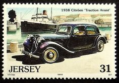 1938 Citroen Traction Avant Vintage Car  Jersey 1999