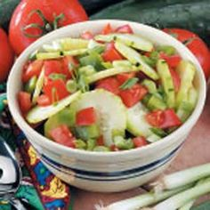 Cucumber Tomato Salad from Taste of Home