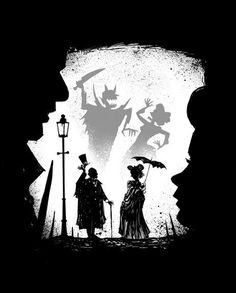 The Shadow Knows Jekyll And Mr Hyde, Shadow Puppets, Nocturne, Macabre, Dark Art, Fantasy Art, Creepy, Fairy Tales, Concept Art