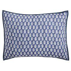 Villa Indigo Patchwork Standard Pillow Sham | Pier 1 Imports