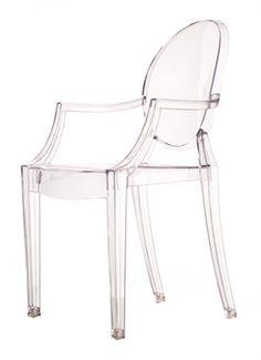 Mini Replica Philip Starck Louis Ghost Chair for Kids