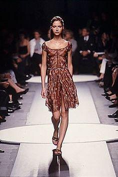 Alberta Ferretti Spring 2000 Ready-to-Wear Fashion Show - Alberta Ferretti, Ana Claudia Michels