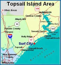 Image Search Results for topsail island map.This is where we go every other year for family vacation. Moving To North Carolina, Coastal North Carolina, North Carolina Beaches, North Carolina Homes, Nc Map, North Topsail Beach, Island Map, I Love The Beach, Surf City