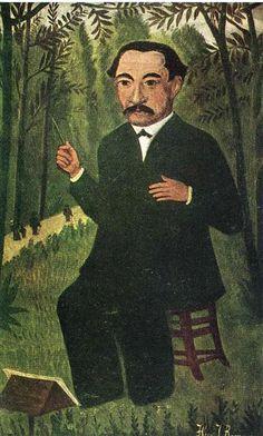 Autoportrait en Chef d'Orchestre, par Henri Julien Rousseau (dit le Douanier Rousseau)