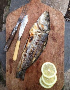 #Recipe: Whole Grilled Branzino