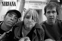 Nirvana Band Shot Poster