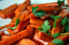 Vanilla & Honey Glazed Carrots