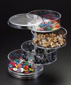 Amazon.com: Candy Dish 4- Tier (Swivel): Kitchen & Dining