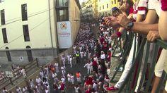 'Time-lapse' del encierro de San Fermín 2015