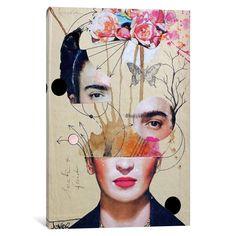 Moderne Kunst Bilder - Loui Jover frida for beginners Poster bei Posterlounge ✔ Gratisversand ✔ Kau. Collage Kunst, Art Du Collage, Art Collages, Art Paintings, Collage Drawing, Collage Artists, Collage Art Mixed Media, Painting Collage, Dada Collage