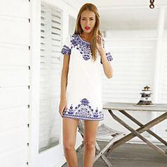 KamierWomen's Fashionable/Casual/Party/Work Sleeveless Dresses (Cotton)