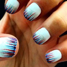 Patriotic nails nails nail pretty white patriotic pretty nails nail art nail ideas nail designs