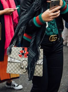 It Girl Essential - Gucci Dionysus Bags Elle Fashion, Dionysus, Hermes, Prada, Gucci, Louis Vuitton, Chanel, Michael Kors, Street Style