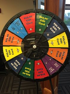 Spin the Freight Management Wheel and Win a Prize! Buy this Prize Wheel at https://PrizeWheel.com/products/floor-prize-wheels/floor-and-table-prize-wheel-12-24-slot-adaptable/.