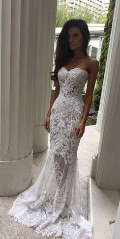 Lace Wedding Dress,Wedding Dress Lace, Mermaid Wedding Dress,See Through Wedding Dress,WD013 #laceweddingdresses #mermaidweddingdresses #weddingdress